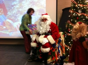 Wonderful Santa Claus! Thank you for coming to visit us Santa.